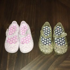 Toddler Size 7 Jelly Shoes